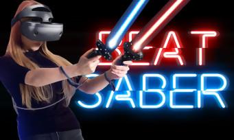Test Beat Saber : quand le PS VR nous transforme en Jedi du rythme