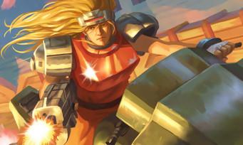 Blazing Chrome : le jeu tient sa date de sortie, une nouvelle vidéo avec deux persos cachés