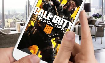 Call of Duty Black Ops 4 :  une application dédiée au jeu pour consulter toute notre progression