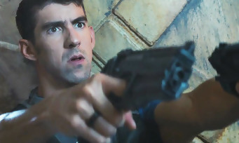 Call of Duty Infinite Warfare : le nageur Michael Phelps est le héros de ce trailer en live action !