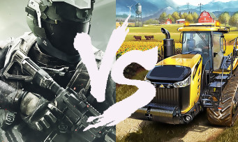 Il y a plus de joueurs PC qui jouent à Farming Simulator 17 qu'à Call of Duty Infinite Warfare