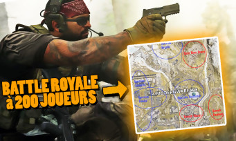 Call of Duty Modern Warfare : un énorme battle royale à 200 joueurs prévu, la map et une tonne d'infos découvertes