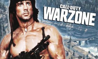 Call of Duty Warzone : c'est officiel, Rambo sera bientôt de la partie