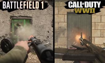 Call of Duty WW2 vs Battlefield 1 : qui a les plus beaux graphismes ? Réponse dans ce comparatif vidéo