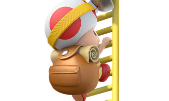 Captain Toad Switch/3DS : du gameplay pour montrer comment récupérer une étoile