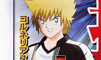 Captain Tsubasa : un nouveau personnage créé spécialement pour le jeu, il est allemand