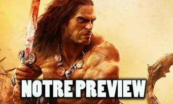 Conan Exiles : le barbare est-il toujours aussi balèze ? Nos impressions