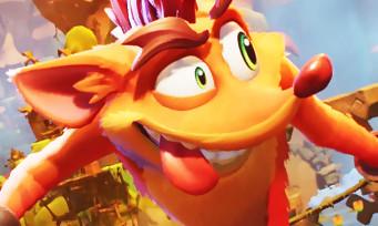 Crash Bandicoot 4 It's About Time : 3 min de gameplay inédites, des bonds et de la bonne humeur