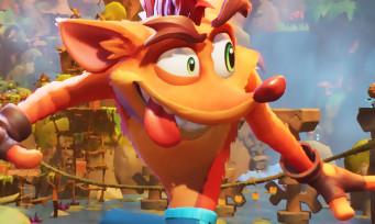 Crash Bandicoot 4 : du gameplay sur PS5, le point sur les optimisations