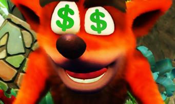 Crash Bandicoot N.Sane Trilogy : Activision dévoile les ventes du jeu, elles sont gargantuesques