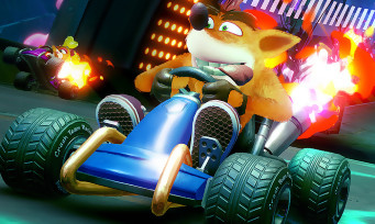 Crash Team Racing : 13 min de gameplay où l'on essaie de finir sur le podium