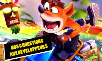 Crash Team Racing Nitro Fueled : on a posé 6 questions aux développeurs juste avant le test