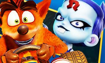 Crash Team Racing : voici les Grands Prix , nouveaux circuits et personnages au programme