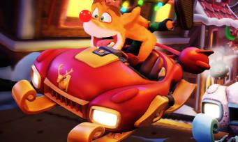 Crash Team Racing : un trailer hivernal pour le nouveau Grand Prix, c'est givré à souhait