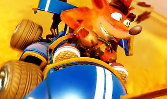 Crash Team Racing : 20 min délicieuses de gameplay au cœur du mode campagne