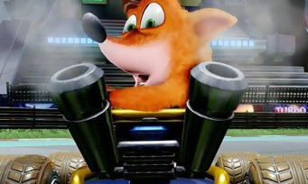 Crash Team Racing Nitro Fueled : le remaster enfin confirmé, un trailer bien funky aux Game Awards 2018
