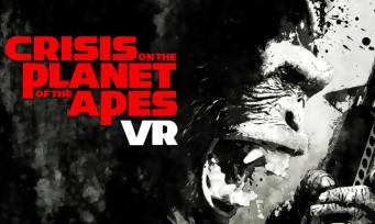 Crisis on the Planet of the Apes : les singes se mettent à la réalité virtuelle, voici la vidéo