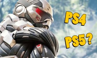 Crysis Remastered : les specs de la version PS4 précisées, la PS5 aussi en ligne de mire ?