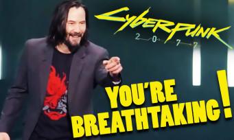"""Cyberpunk 2077 : une pétition pour qu'un trophée """"You're Breathtaking"""" voit le jour"""