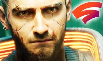 Cyberpunk 2077 : le jeu se confirme sur Stadia avec un trailer et un joli carnet de développeurs