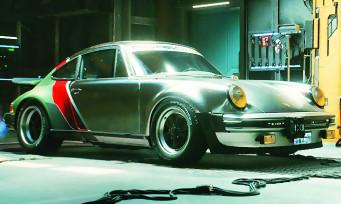 Cyberpunk 2077 : un trailer dévoile les véhicules de Night City, dont une Porsche 911 de 1977