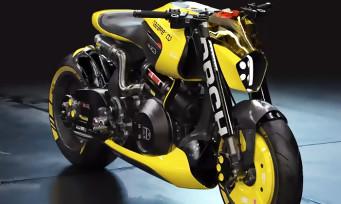 Cyberpunk 2077 : Keanu Reeves nous explique que sa moto ARCH Motrocycle sera dans le jeu