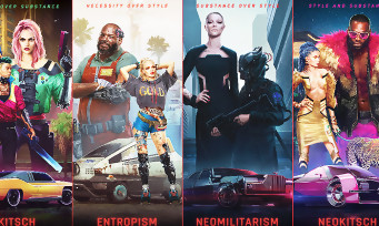 Cyberpunk 2077 : la mode vestimentaire de Night City s'illustre en vidéo