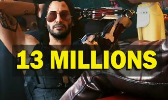 Cyberpunk 2077 : le jeu s'est vendu à 13 millions d'exemplaires, et ça comprend les remboursements