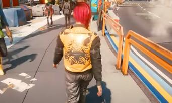 Cyberpunk 2077 : la vue à la 3è personne est dispo via un mod, et c'est pas joli joli