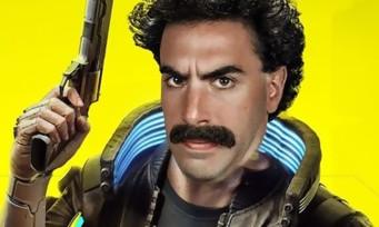 Cyberpunk 2077 : quand Borat débarque dans Night City, le mash-up est improbable
