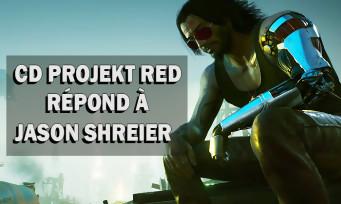 Cyberpunk 2077: CD Projekt Red répond à Jason Schreier et se défend sur certains points