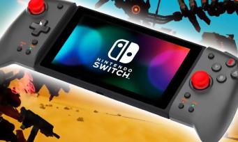 Switch : des Joy-Con Hori spécialement conçus pour Daemon X Machina, gros mais efficace