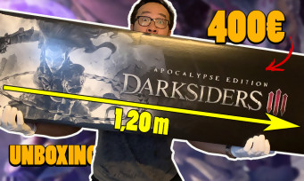 Darksiders 3 : le plus gros collector qu'on ait jamais unboxé