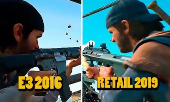 Days Gone : E3 2016 vs jeu final 2019, il y a des choses qui ont disparu
