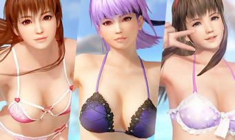 Dead or Alive Xtreme 3 Scarlet : Hitomi, Ayane et Kasumi font les belles en vidéo