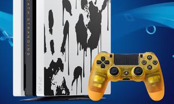Death Stranding : une PS4 Pro collector qui met des claques, les fans vont craquer !