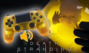 Death Stranding : le bébé pourra communiquer à travers le haut-parleur de la manette PS4