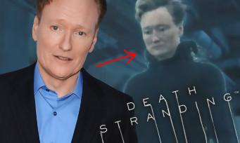 Death Stranding : Kojima a mis dans le jeu Conan O'Brien, le célèbre présentateur américain !