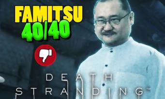 Death Stranding : le patron de Famitsu est dans le jeu, la note de 40/40 fait polémique au Japon