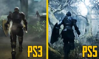 Demon's Souls : une vidéo compare le remake avec le jeu de 2009, sacrée refonte