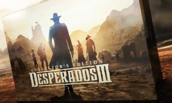 Desperados III : l'édition collector impose sa loi dans un trailer sableux