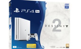 """Destiny  2 : un bundle PS4 Pro """"Glacier White"""" arrive, les images"""