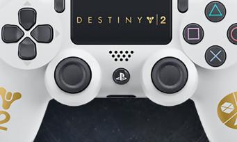 Destiny 2 : Sony commercialisera une DualShock 4 collector aux couleurs du jeu