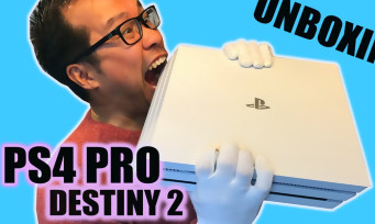 PS4 Pro : voici notre unboxing de la console collector aux couleurs de Destiny 2 !