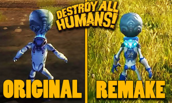 Destroy All Humans! : le remake s'offre quelques doux screenshots comparatifs