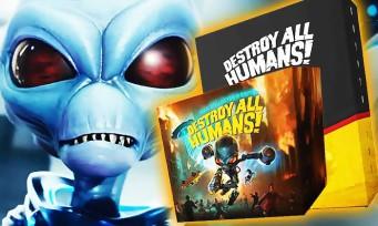 Destroy All Humans! : 2 énormes éditions collectors annoncées, dont une à 400 euros !