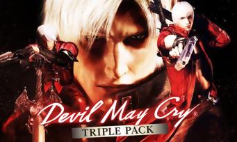 Devil May Cry : une édition physique compile les trois premiers jeux sur Switch, les infos