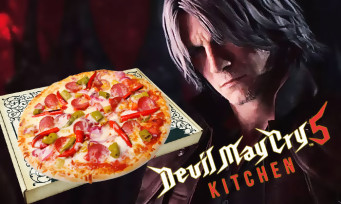 Une Devil May Cry 5 Kitchen à Paris, un bar-pizzeria éphémère à l'effigie du jeu