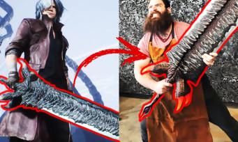 Devil May Cry 5 : ils recréent en vrai l'épée Dante, c'est tout simplement impressionnant
