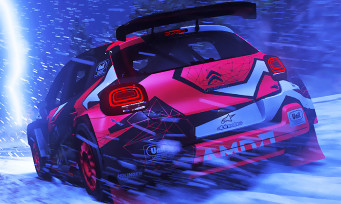 DiRT 5: gameplay on Xbox Series X, Sebastian's big sound in his ears